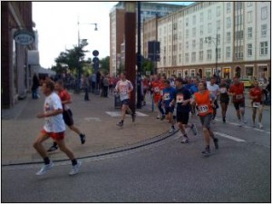 10 Km-Lauf in der Langen Straße