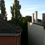 Über den Dächern von Sendling