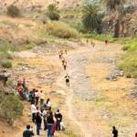 Durch das Flussbett vor Tenoya