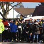 Vor dem Start des Viertel- und Halbmarathons