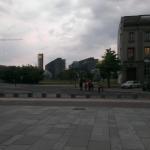 Blick zum Hauptbahnhof