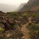 Der Abstieg nach Arteara - was für Steinliebhaber