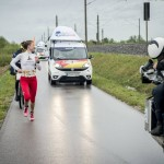 Catcher Car holt die Siegerin ein // Foto: Red Bull
