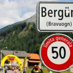 """Das """"Marathondorf"""" - was für eine Kulisse für den Swissalpine"""