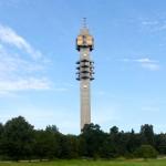 Fernsehturm an der Strecke