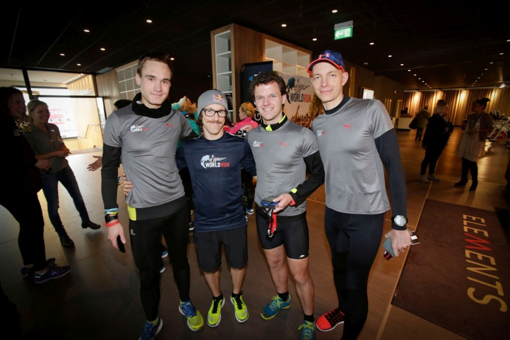 Participants at the Wings for Life World Run event in Munich 23rd of January 2016 Bild: Daniel Grund